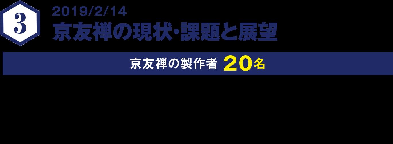 京友禅の現状・課題と展望